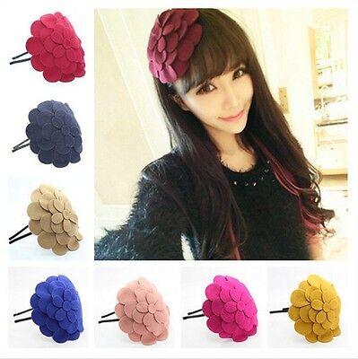 Fashion Women Girls Hair Accessory Big Flower Hair Band Hoop Headband Gift