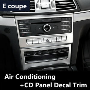 Car Air Conditioning CD Panel Decorative Trim For Mercedes