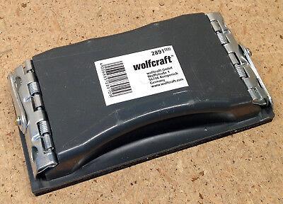 Wolfcraft Profi- Handschleifklotz Handschleifer 85 X 160 Mm 2891000