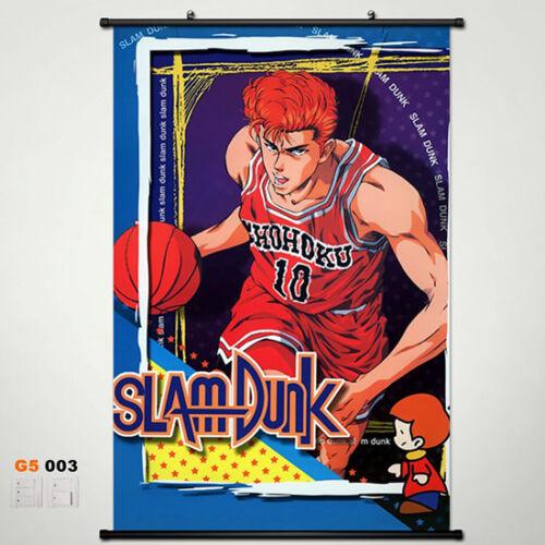 NEW Slam Dunk Poster Stoffposter Anime Home Decor 45x68CM