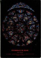 Alte Postkarte - Cathedrale de Reims - Rose Nord