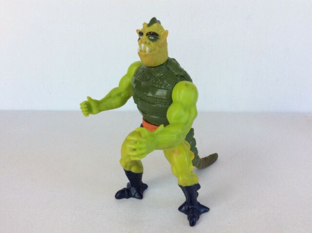 Vintage He-Man MOTU WHIPLASH Figure, Masters of the Universe 1983