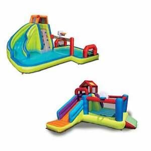 Banzai-2-in-1-Ultimate-Aqua-Sports-Water-Park-and-Climb-039-N-Bounce-House-Combo