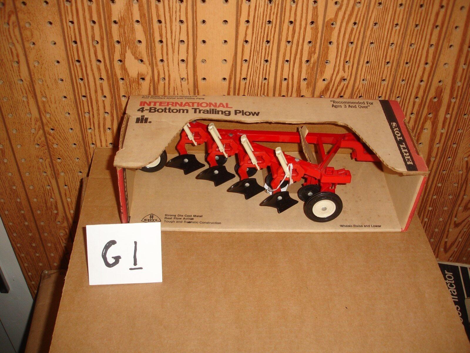 1 16  international plow  in box