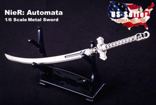 Échelle 1//6 métal épée pour nier automates yorha No.2 Type B Hot Toys PHICEN ❶ USA ❶