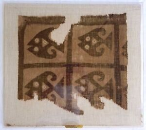 Pre-Colombian-Ancient-Chimu-Mantle-Cloth-Fragment-900-1400-AD