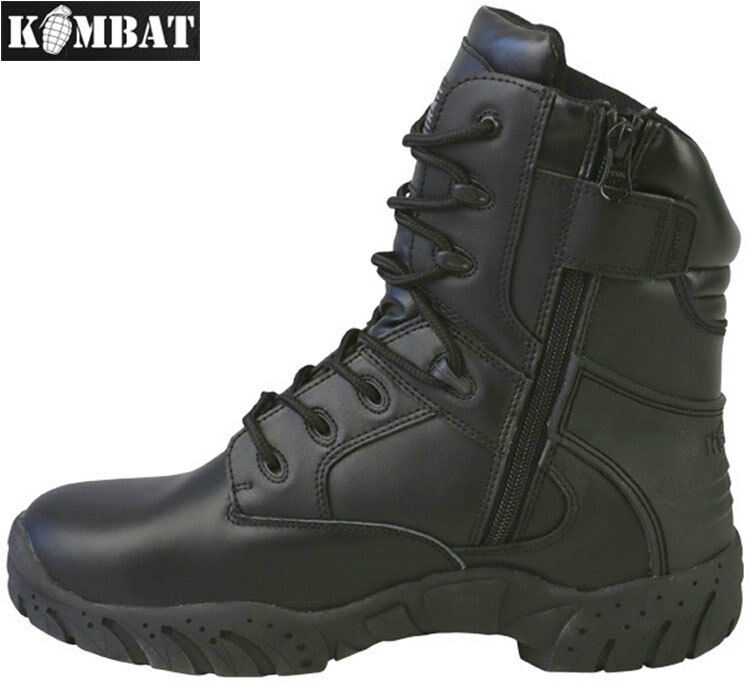 Hombre Army Army Army Combat Military Negro Or Marrón Tactical Pro MOD botas Hiking Talla 4-13 f841ea