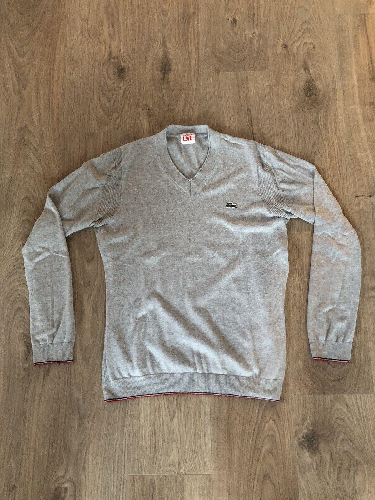 Lacoste Herren Sweatshirt Gr. 4 / S in Grau