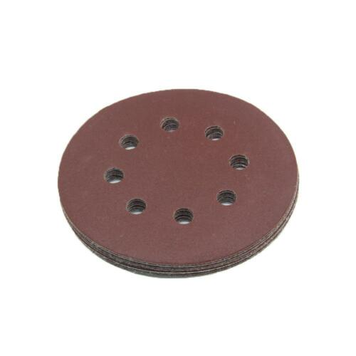 125 mm Meules adapté pour skil 7445 AA p36-p1000 meule ponceuse red