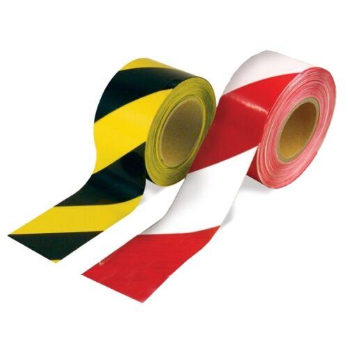 Advertencia barrera Cinta Roll-Sin Adhesivo-Varios Colores - 72mm X 500m