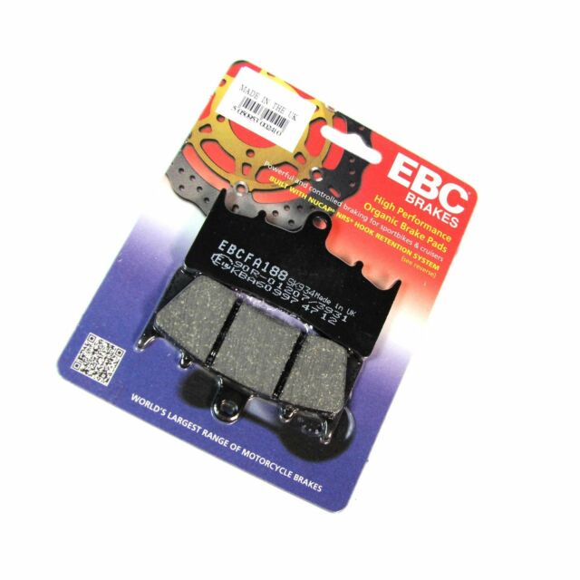 EBC Organic Rear Brake Pads For Triumph 1999 Speed Triple T509/T955