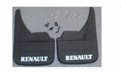 Renault Logo Universal Car Mudflaps Front Rear Wind Zoe Clio Mud Flap Guard