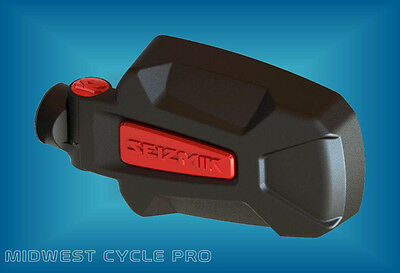 Seizmik Red Pursuit Elite Side View Mirrors 2 Polaris