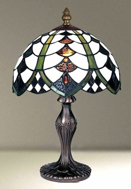Tiffany Style Glass Handcrafted Table /Desk / Bedside Lamps