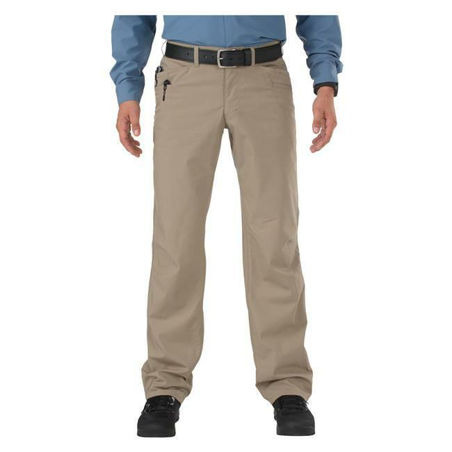 5.11 Tactical Ridgeline Teflon Rip Stop Duty Pants Men's 34x30 Stone 74411