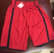 d932b31507928a Jordan Nike Crossover Basketball Shorts Men Large Red Black 724834 ...