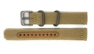 Seiko-5-SNK803-SNK803K2-Replacement-Beige-Fabric-Watch-Strap-4K10JZ