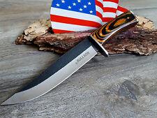 BULLSON - JAGDMESSER MESSER KNIFE HUNTING COUTEAN CUCHILLO COLTELLO BUSCHMESSER