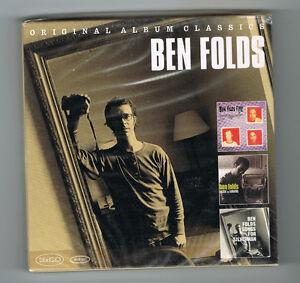BEN-FOLDS-3-ORIGINAL-ALBUM-CLASSICS-NEUF-NEW-NEU