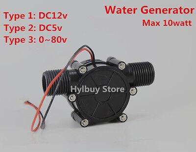 10w water turbine generator small Hydroelectric power generator DC5v 12v 80v DIY