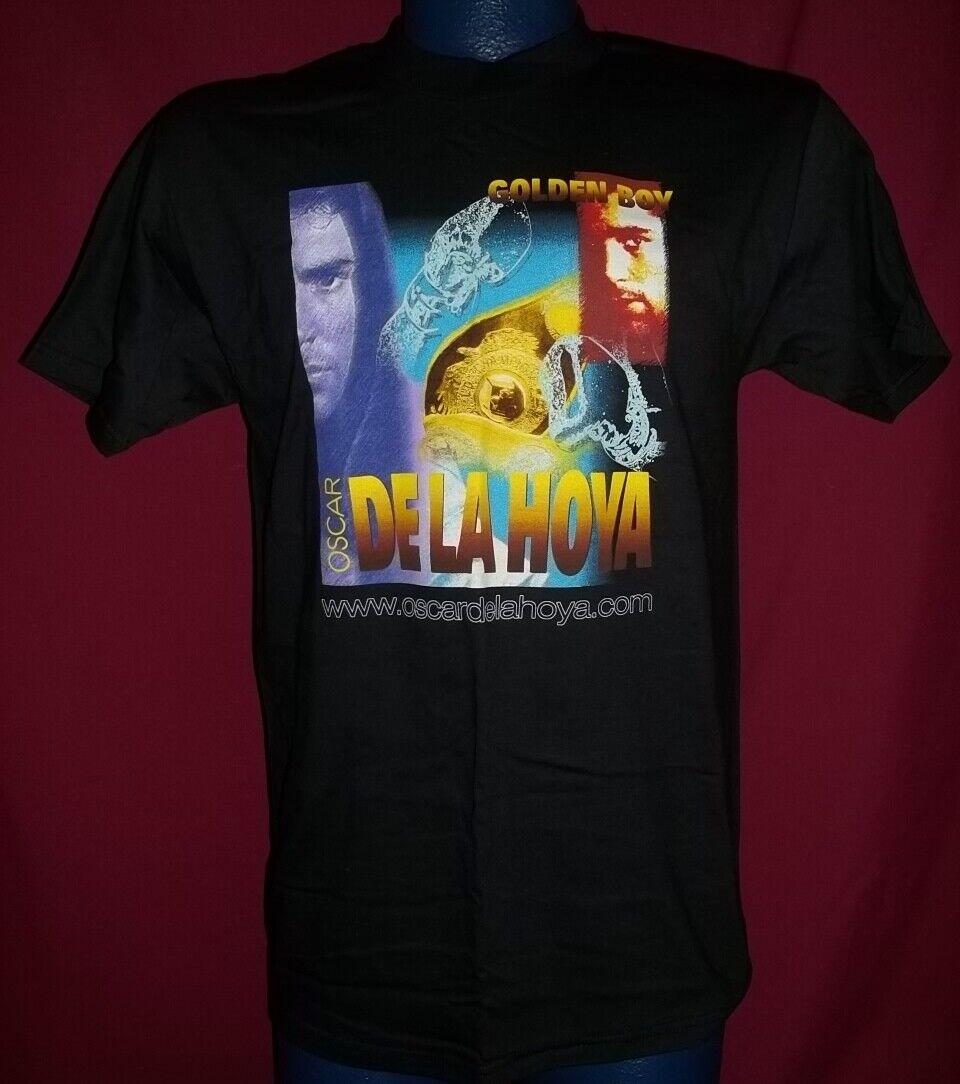 Oscar De La Hoya 1990s Fight T-Shirt M RARE Graphic MINT Condition Hard 2 Find