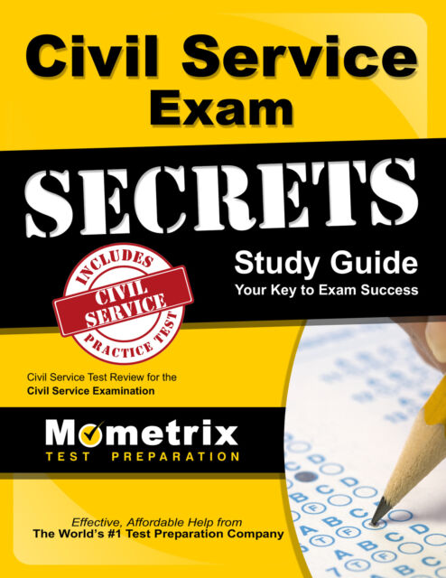 Civil Service Exam Secrets Study Guide Civil Service Test Review For The Civil Service Examination 2014 Paperback