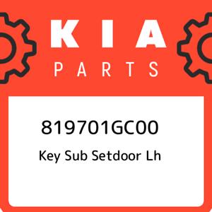 819701GC00-Kia-Key-sub-setdoor-lh-819701GC00-New-Genuine-OEM-Part