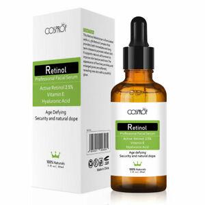 Pure-Retinol-Vitamin-E-2-5-Anti-Aging-Wrinkle-Acne-Cream-Facial-Face-Serum-New