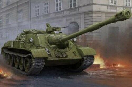 Hobbybo 1 35 -skala modellllerl kit sovjetisk SU -122 -54 Tank Destroyer HBB8543