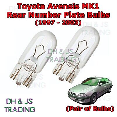 2x Toyota Avensis T22 Ultra Bright White 24-LED Reverse Light Lamp Bulbs