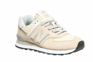 New-balance-wl574-zapatillas-de-deporte-cortos-moderna-senora-zapatos-casual-amarillo