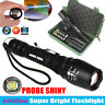 G700 X800 8000lm Zoomable XML T6 LED Tactical Flashlight 18650 Battery Lamp Set
