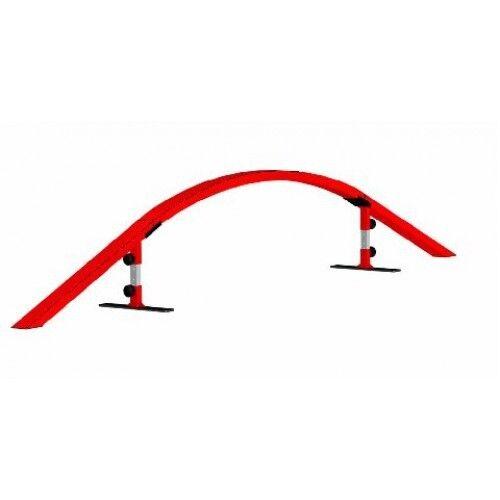 Skater Rampe Freshpark Ultimate Grind Rail Kit Skateboard transportabel modular