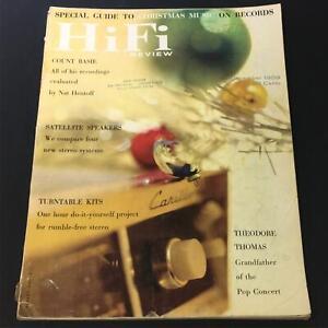 VTG HiFi Review Magazine December 1959 - Theodore Thomas Grandfather Pop Concert