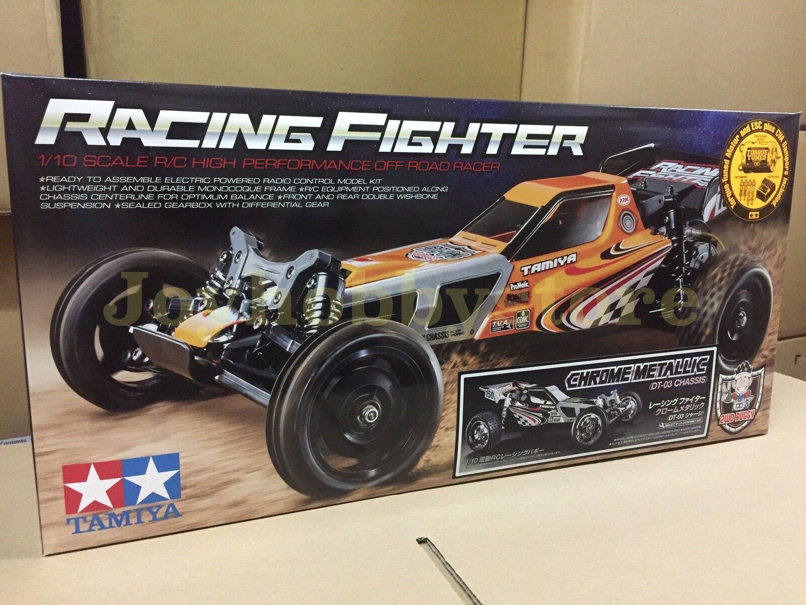 Tamiya 47347  1 10 RC Racing combatiente - DT03 Chrome Mettuttiic Off strada Kit  qualità ufficiale