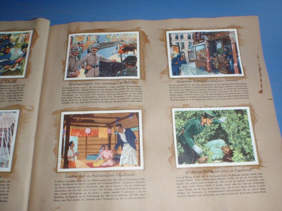 Samlekort, Politi og Brandmænd