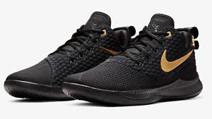 a51b2ca80512c Nike Lebron James Witness III AKRON Black Gold AO4433-003 men ...