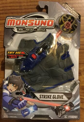NEW! MONSUNO battle STRIKE GLOVE accessory core tech Chase Suno action toy