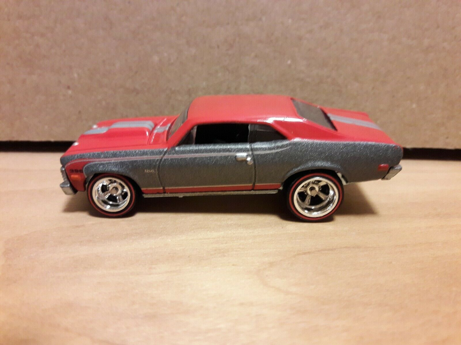 2011 HOT WHEELS GARAGE - '68 CHEVY NOVA - LOOSE - BRAND NEW