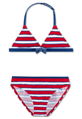 SCHIESSER AQUA Mädchen Badeanzug Bustier Bikini NEU Gr.164 ehemaliger UVP 29,95€