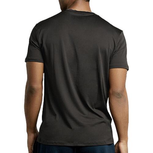 Homme Nouveau Athletic Moisture Wicking Dri Fit Gym Entraînement Sports Solid T-Shirt S-XL