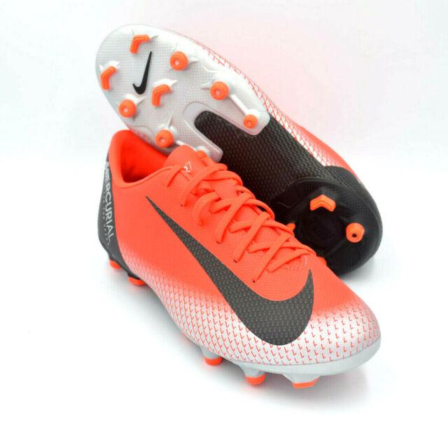 414944816 Nike Jr Mercurial Vapor XII 12 Academy Cr7 MG Ronaldo Red Aj3089-600 ...