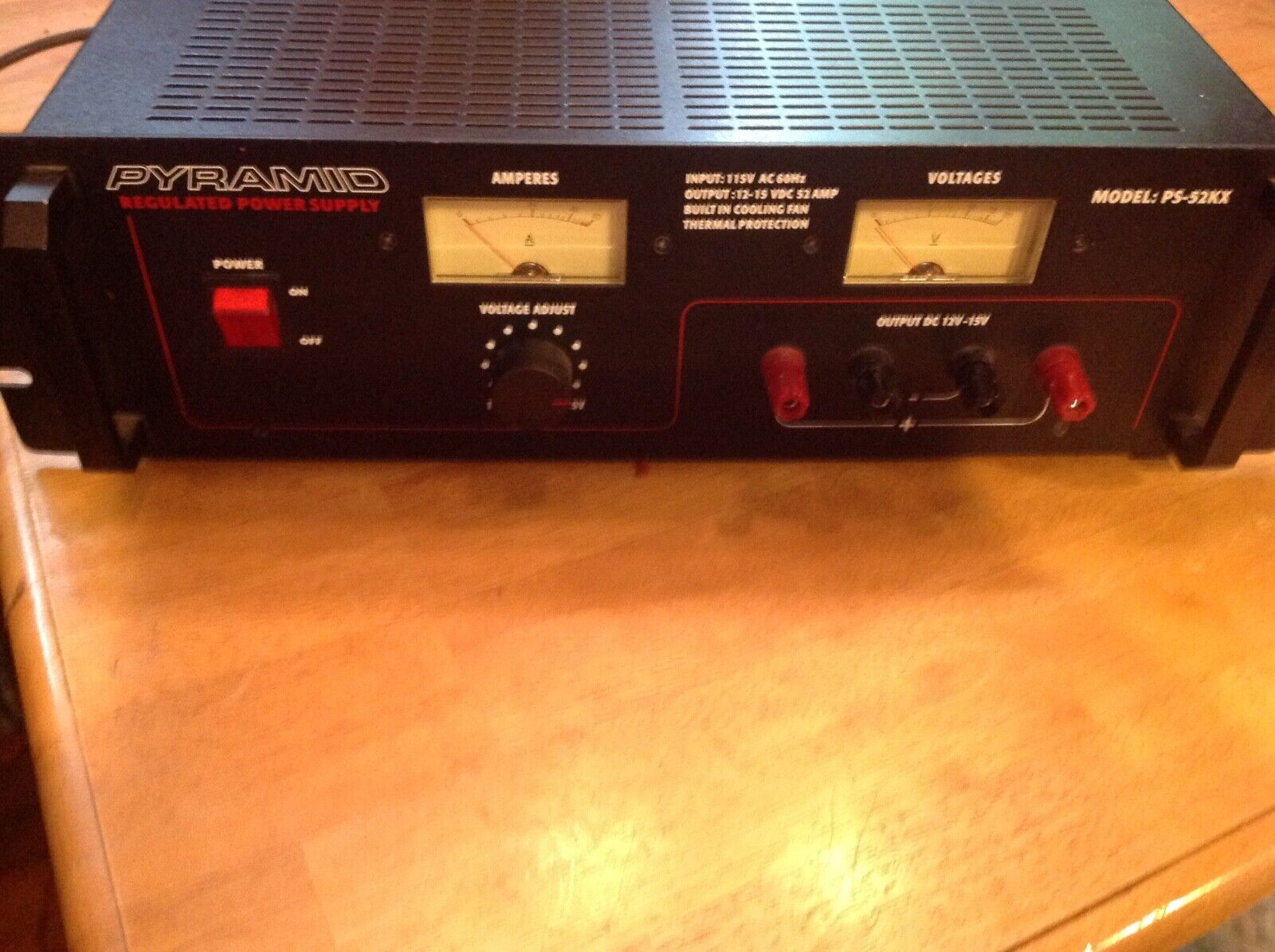 PYRAMID PS52KX Power Supply. Available Now for 200.00