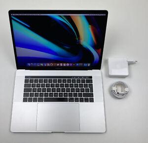 """Apple MacBook Pro Retina 15,4"""" TOUCHBAR i7 2,7 Ghz 512 GB SSD 16 GB SILBER 2016"""
