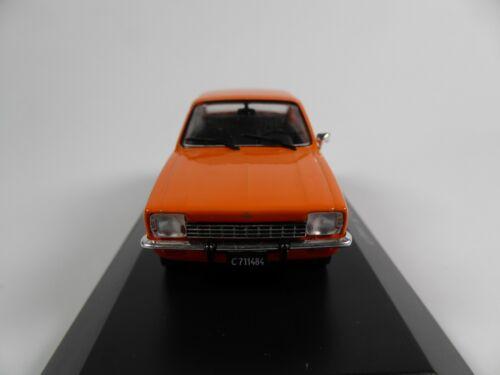 Kadett C Opel K180 1974-1:43 SALVAT Autos Inolvidables Diecast Model Car AR24