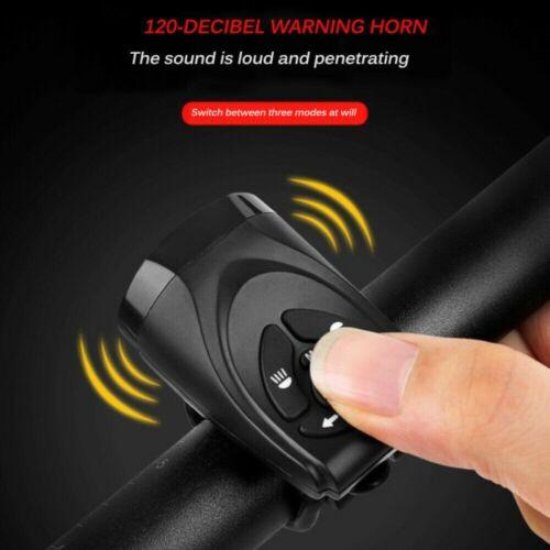 Bicycle Bike Indicator LED Rear Tail Light USB Wireless w// Remote Warning Light