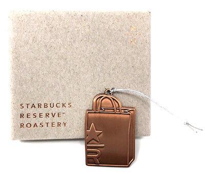 Starbucks Reserve Roastery /& Tasting Room Siren Bronze Ornament Seattle