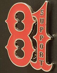 Angels 81 HELLS PIN BADGE metal patch 1/%er biker present support 81 nomads