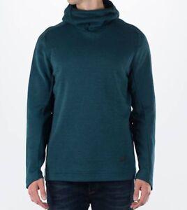 nike fleece funnel neck sweatshirt