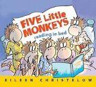 Five Little Monkeys Reading in Bed by Eileen Christelow (Hardback, 2014)